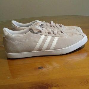 Adidas grey shoes size 9.5.